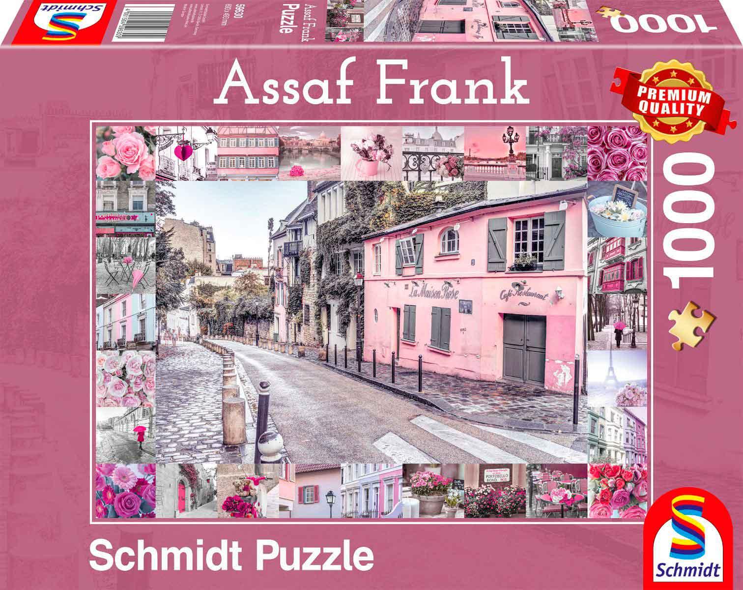 Puzzle Schmidt Viaje Romántico de 1000 Piezas