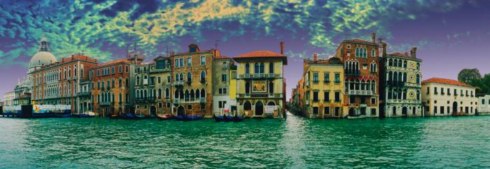 Puzzle Schmidt Vista Panorámica de Venecia de 1000 Piezas
