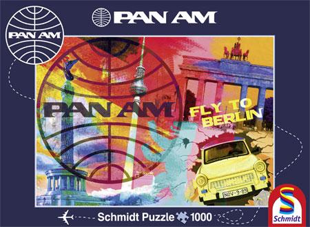 Puzzle Schmidt Vuelo a Berlín de 1000 Piezas