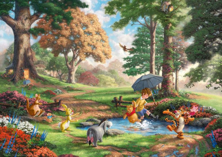 Puzzle Schmidt Winnie The Pooh de 1000 Piezas