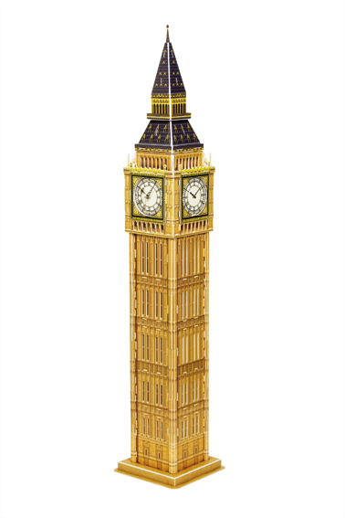Puzzle Scholas Big Ben, Londres 3D 94 Piezas