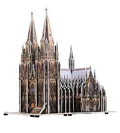 Puzzle Scholas Catedral de Colonia 3D 231 Piezas