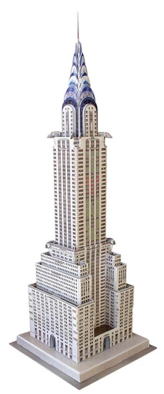 Puzzle Scholas Chrysler Building 3D 90 Piezas