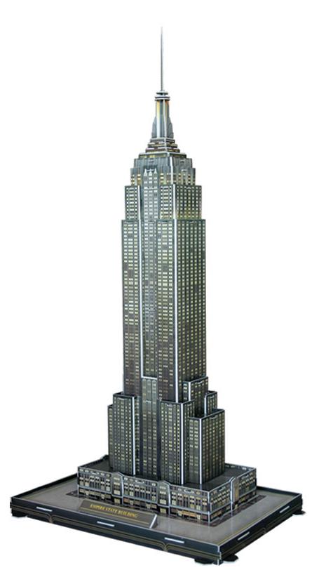 Puzzle Scholas Empire States Building 3D 40 Piezas