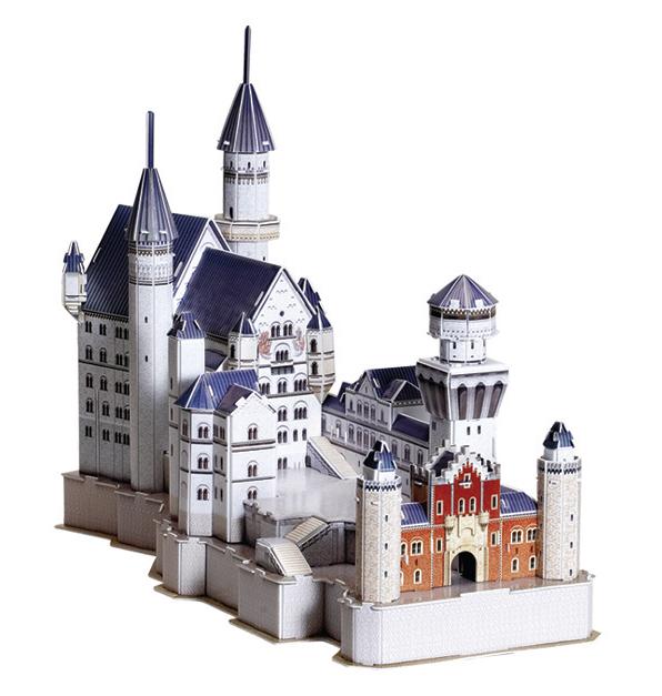 Puzzle Scholas Castillo del Rey Loco 3D 99 Piezas