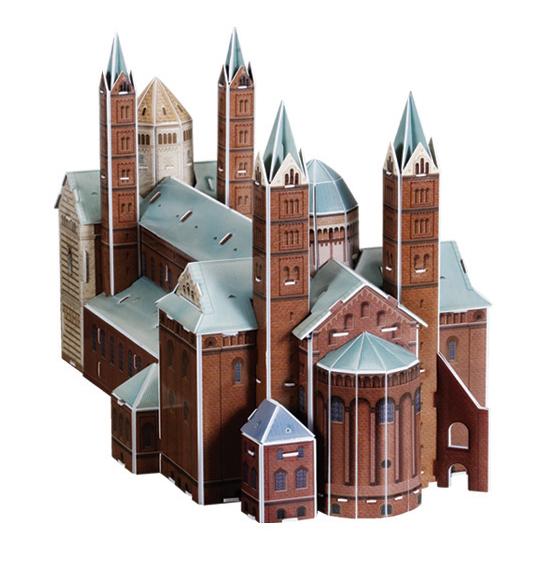 Puzzle Scholas Speyer Cathedral 3D 84 Piezas