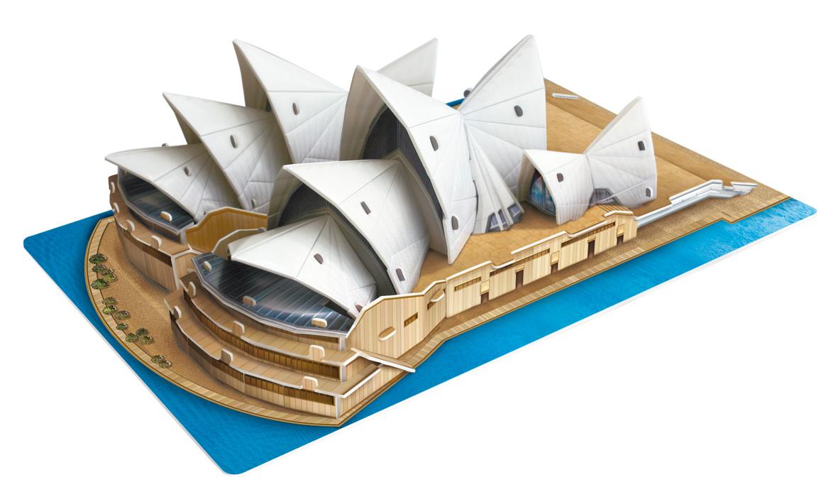 Puzzle Scholas Sydney Opera House 3D 47 Piezas