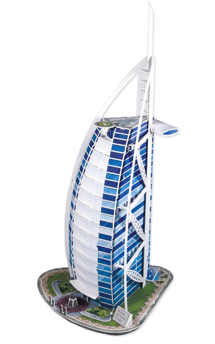 Puzzle Scholas Torre Burj Al Arab 3D 91 Piezas