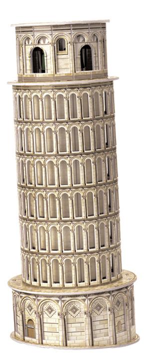 Puzzle Scholas Torre de Pisa 3D 11 Piezas
