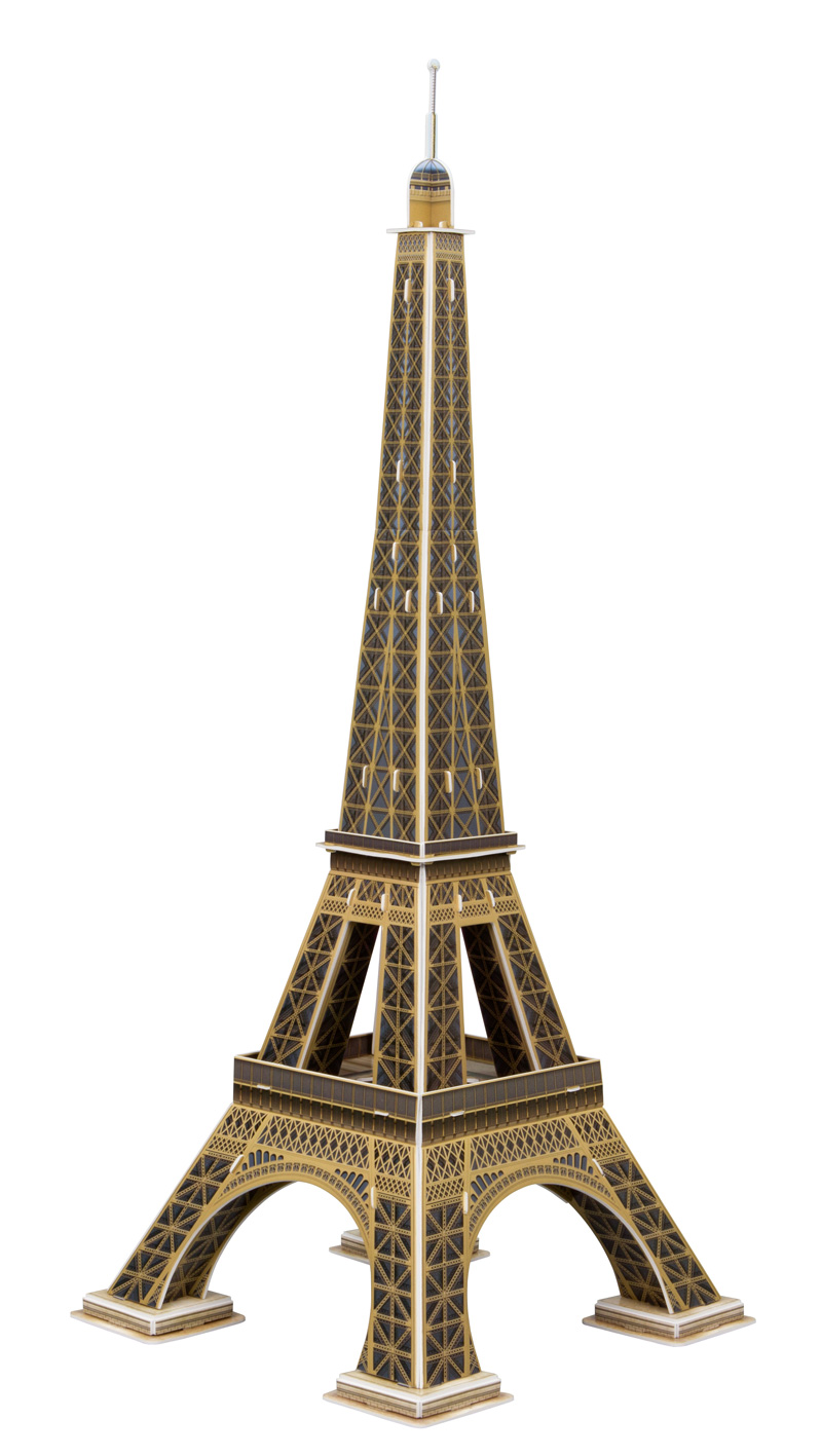 Puzzle Scholas Torre Eiffel, Paris 3D 64 Piezas