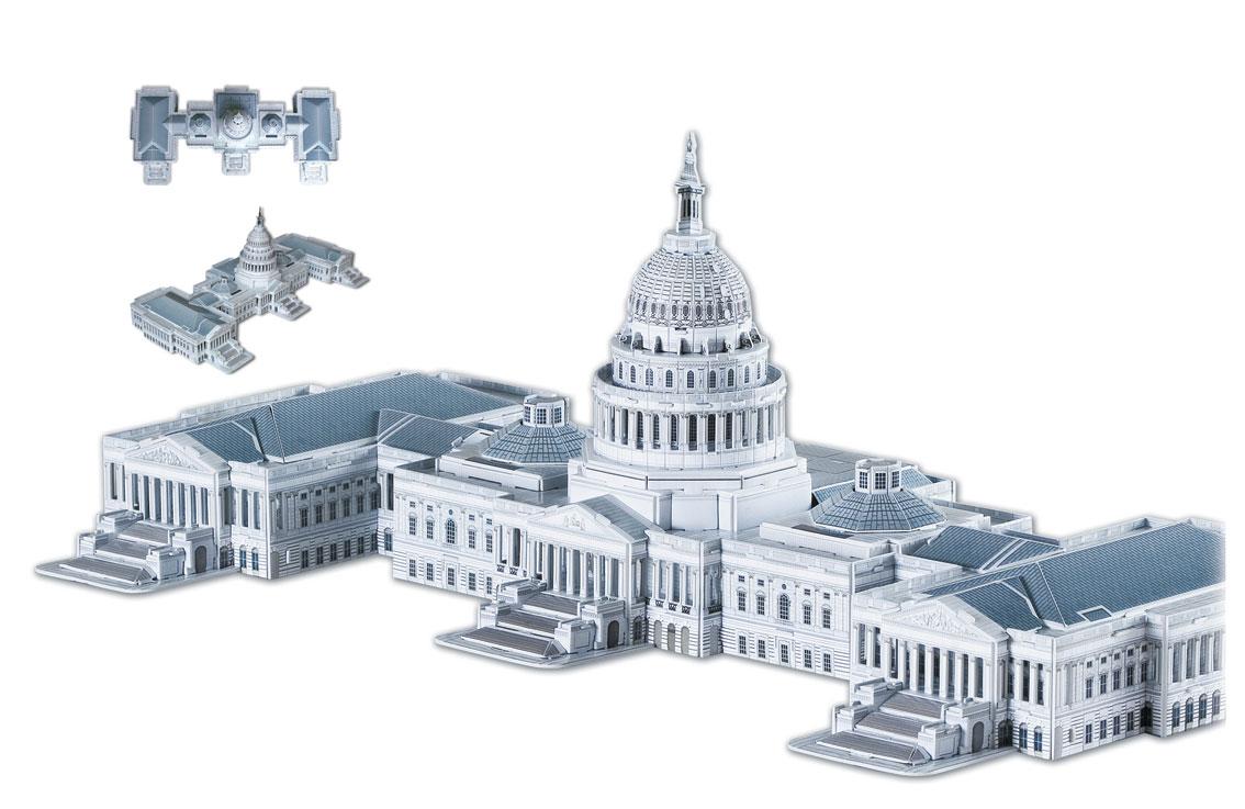Puzzle Scholas United States Capitol 3D 159 Piezas