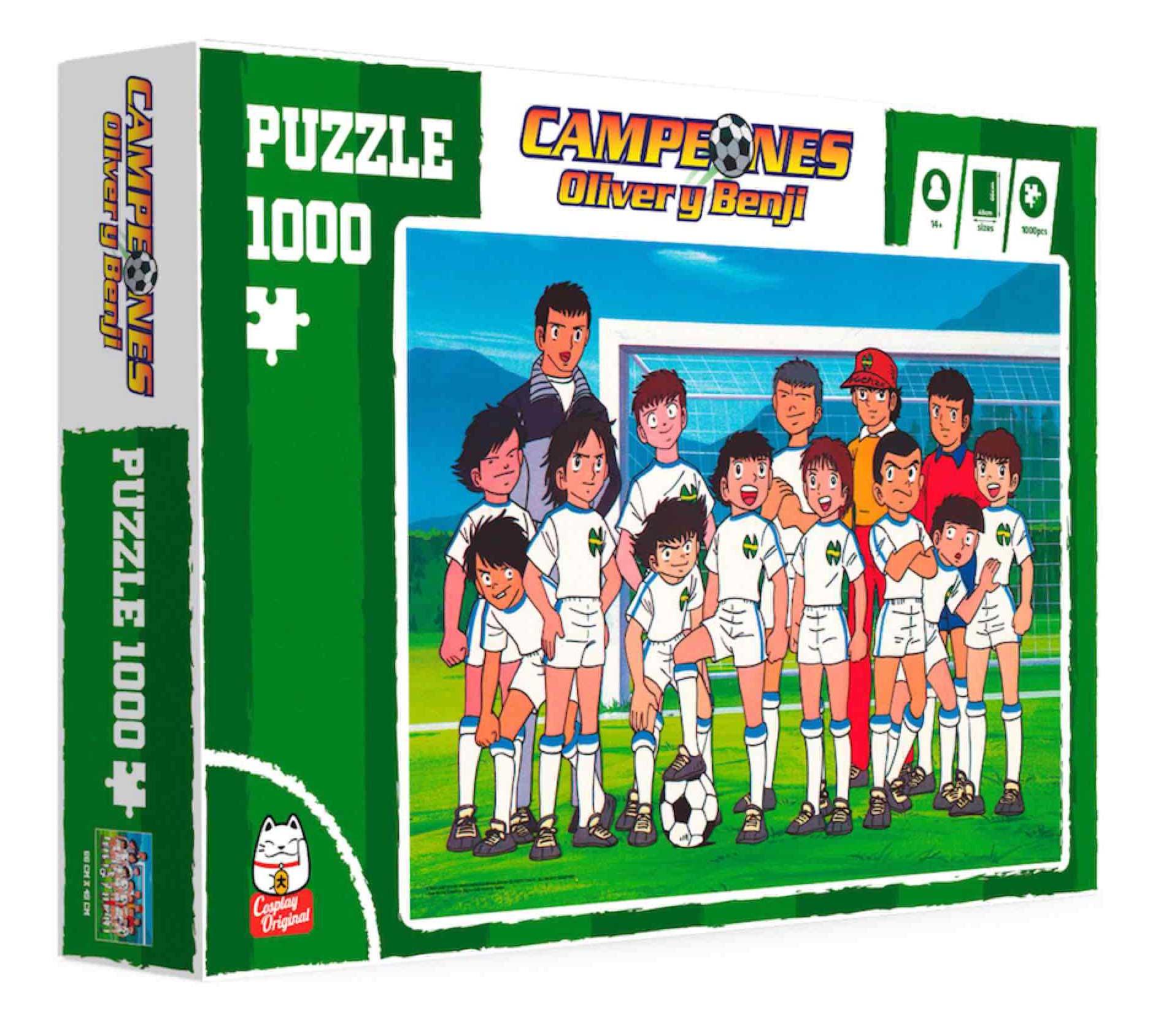 Puzzle SDToys Foto de Equipo de Campeones de 1000 Pzs