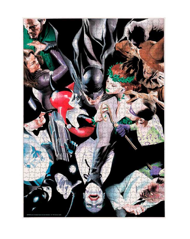 Puzzle SDToys Batman y sus Enemigos Universo DC de 1000 Piezas