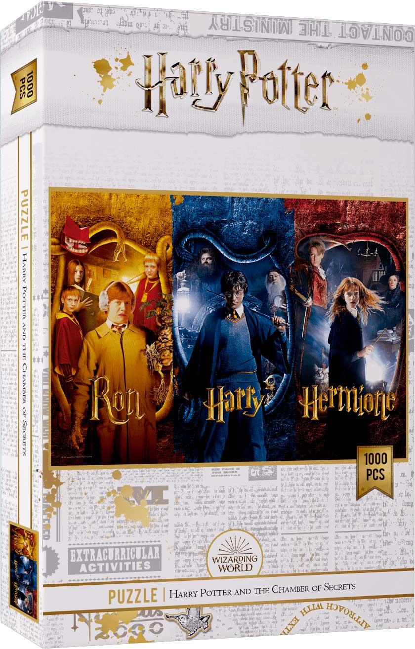 Puzzle SDToys Harry Potter, Ron y Hermione de 1000 Pzs