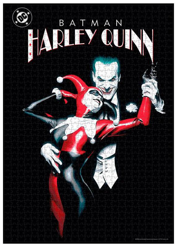 Puzzle SDToys Joker y Harley Quinn Universo DC de 1000 Pzs