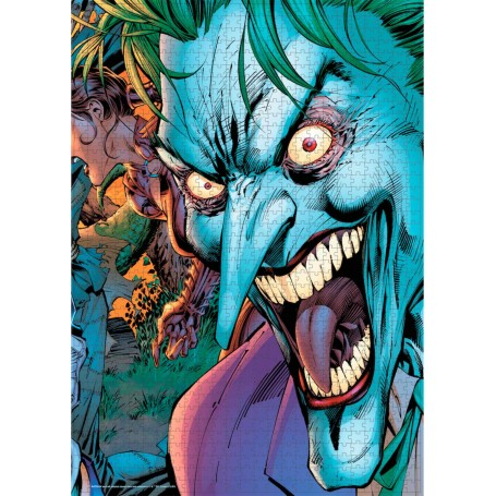 Puzzle SDToys Joker Crazy Eyes Universo DC de 1000 Piezas
