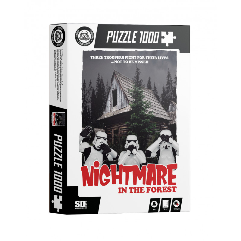 Puzzle SDToys Nightmare in the Forest de 1000 Piezas