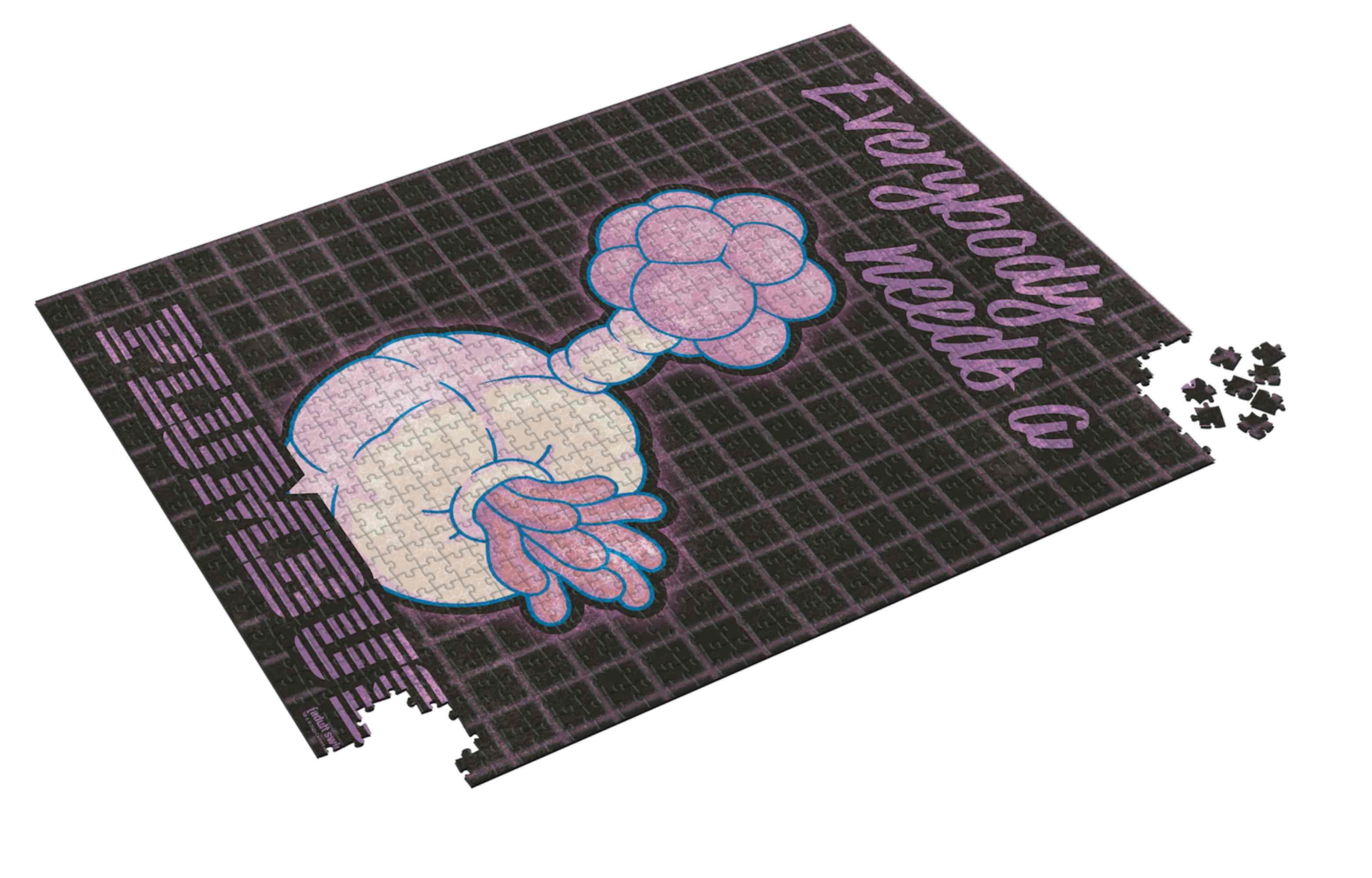 Puzzle SDToys Rick y Morty Plumbus de 1000 Piezas