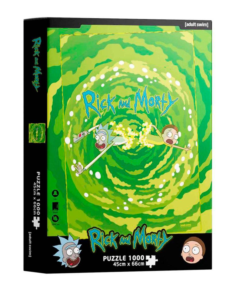 Puzzle SDToys Portal Rick y Morty  de 1000 Piezas