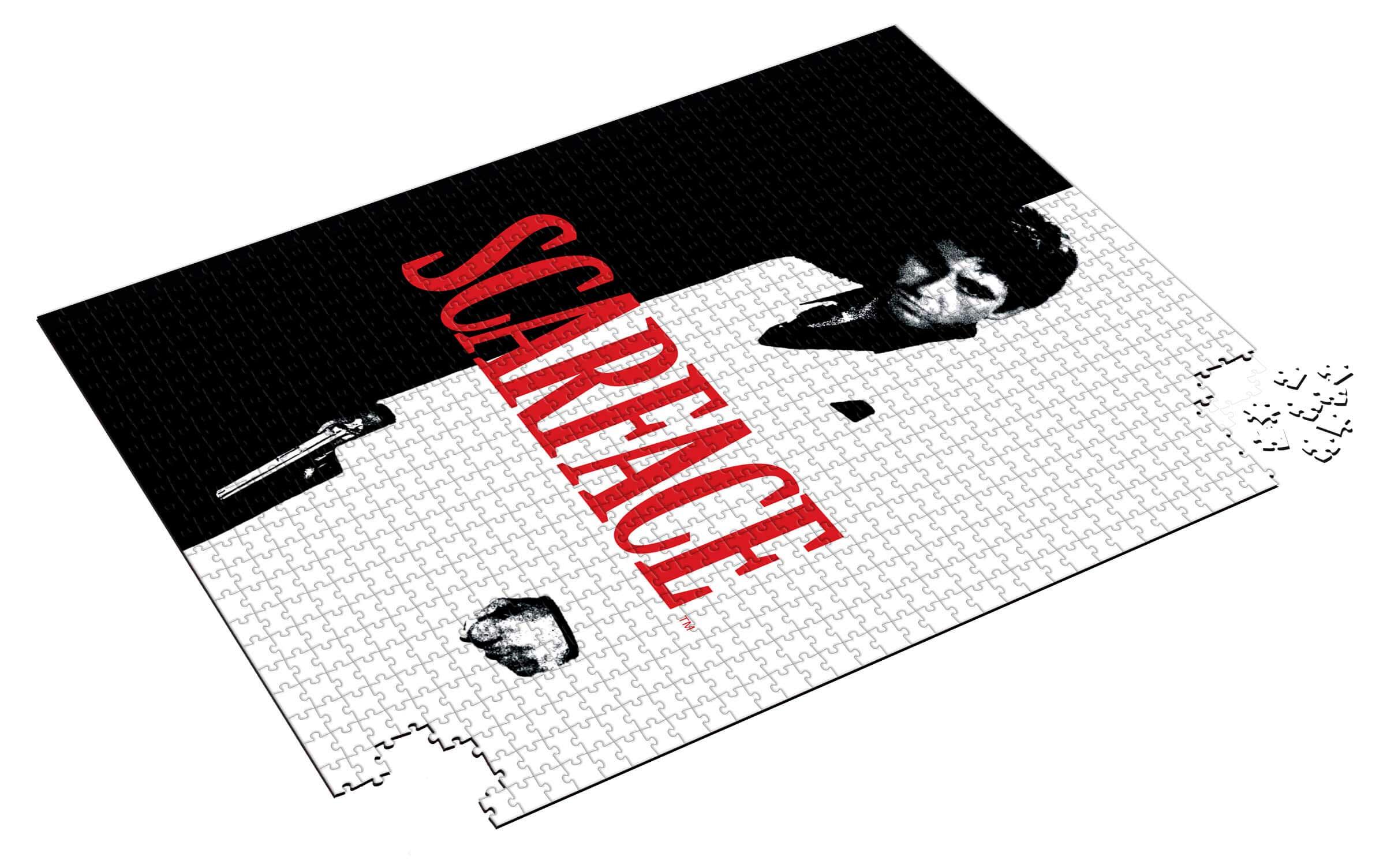 Puzzle SDToys Poster Scarface de 1000 Piezas