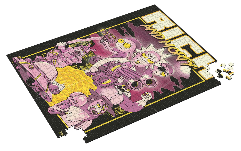 Puzzle SDToys Retro Poster Rick y Morty de 1000 Pzs