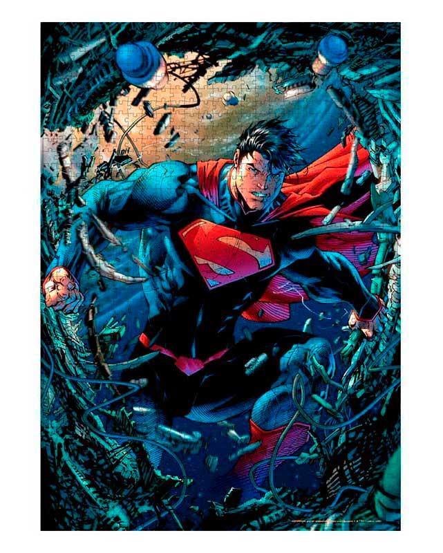 Puzzle SDToys Superman Chatarra Universo DC de 1000 Piezas