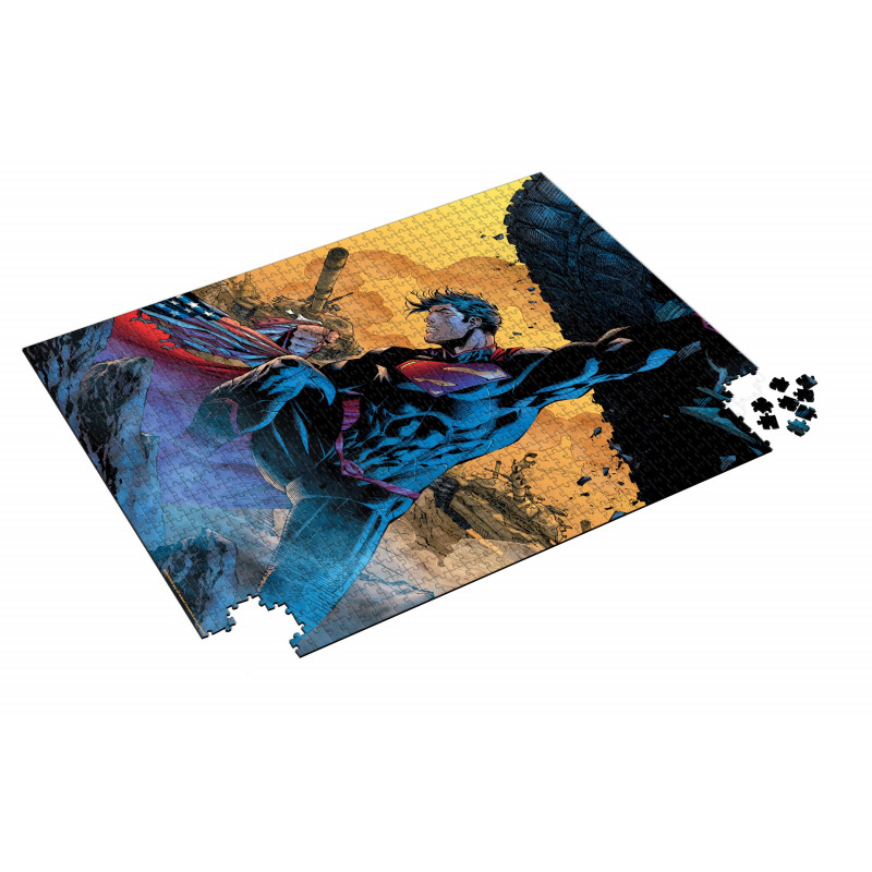 Puzzle SDToys Superman Tanque Universo DC de 1000 Piezas