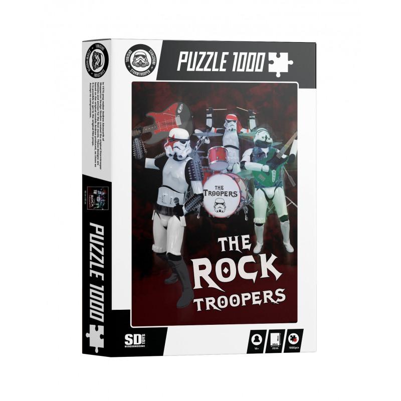 Puzzle SDToys The Rock Troopers Original de 1000 Piezas