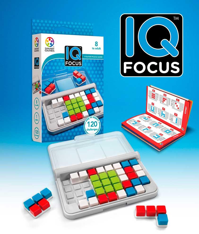 Puzzle Smart Games de Ingenio IQ Focus