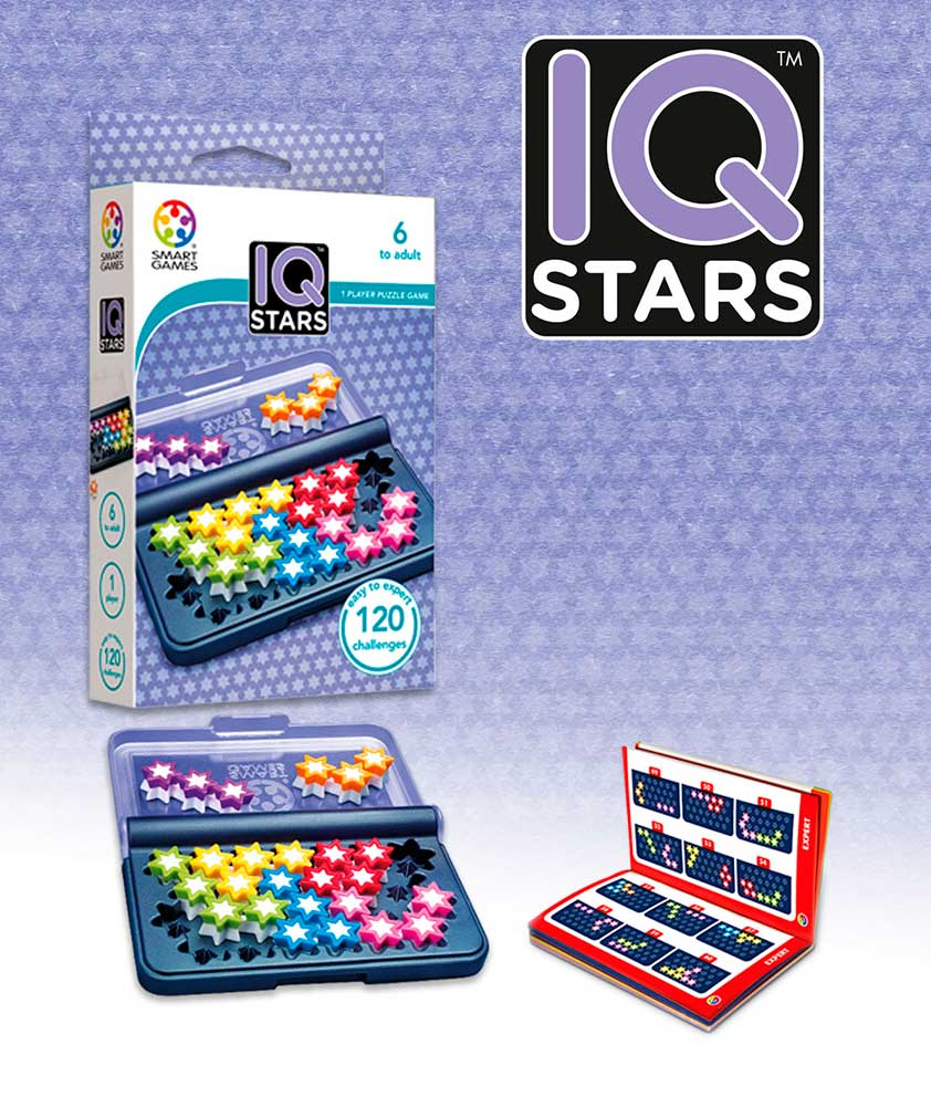Puzzle Smart Games de Ingenio IQ Stars