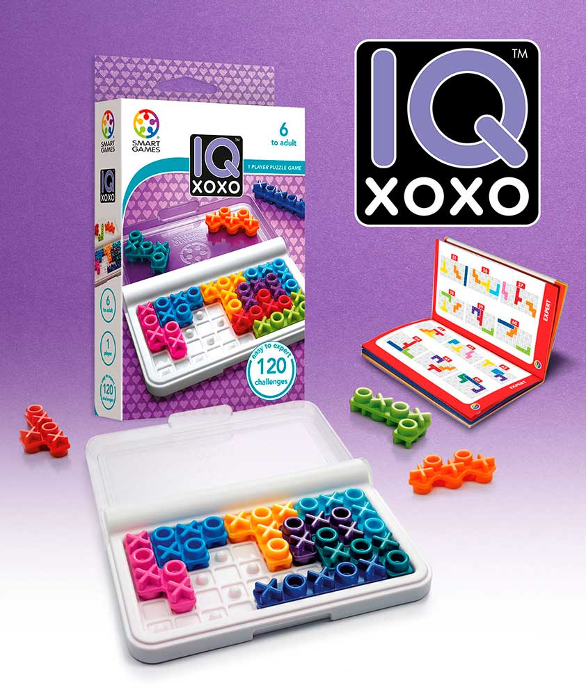 Puzzle Smart Games de Ingenio IQ XOXO