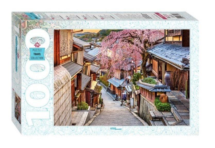 Puzzle Step Puzzle Calle de Kioto de 1000 Piezas