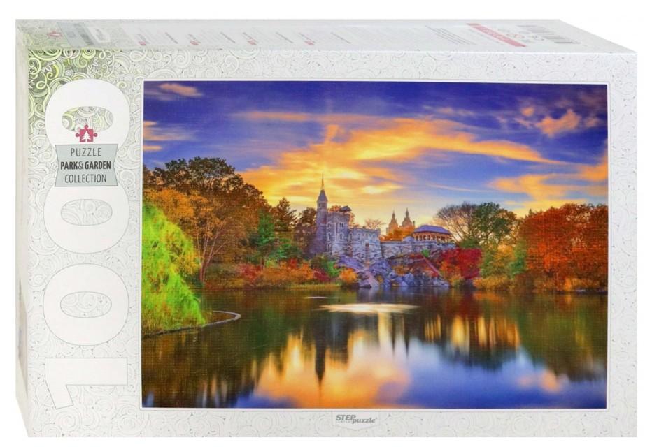 Puzzle Step Puzzle Castillo Belvedere en Central Park de 1000 Pz