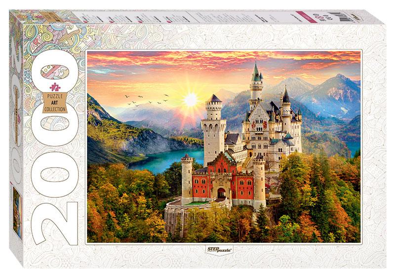 Puzzle Step Puzzle Castillo de Neuschwanstein de 2000 Piezas