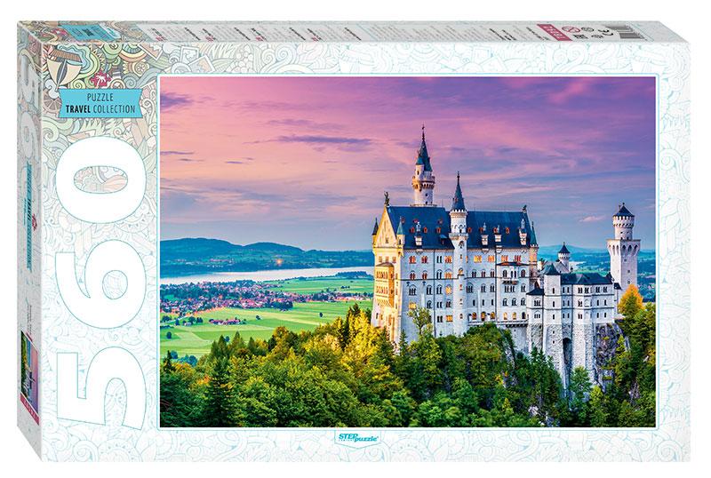 Puzzle Step Puzzle Castillo de Neuschwanstein de 560 Piezas