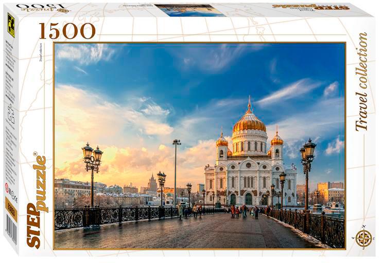 Puzzle Step Puzzle Catedral de Cristo El Salvador, Moscú de 1500