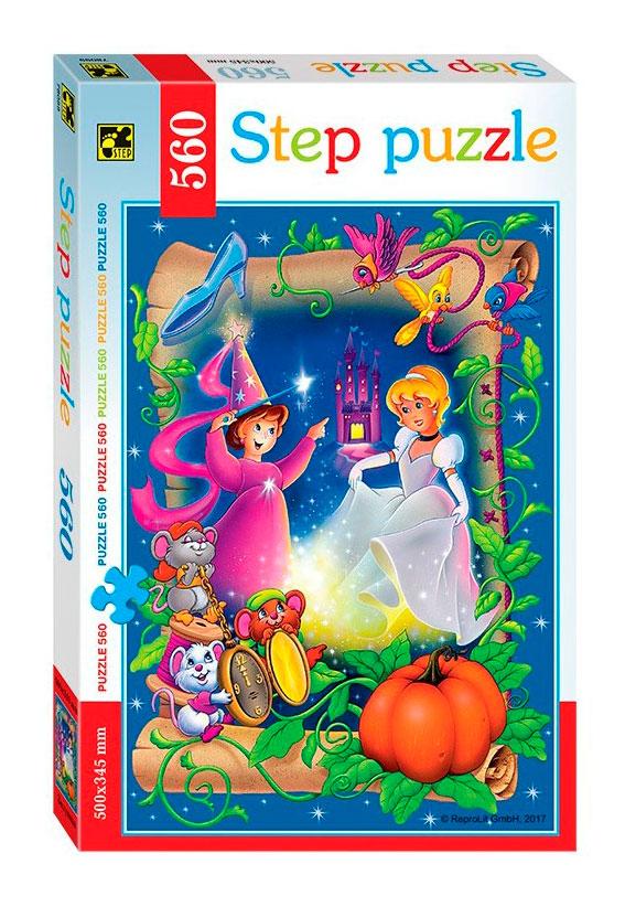 Puzzle Step Puzzle Cenicienta de 560 Piezas