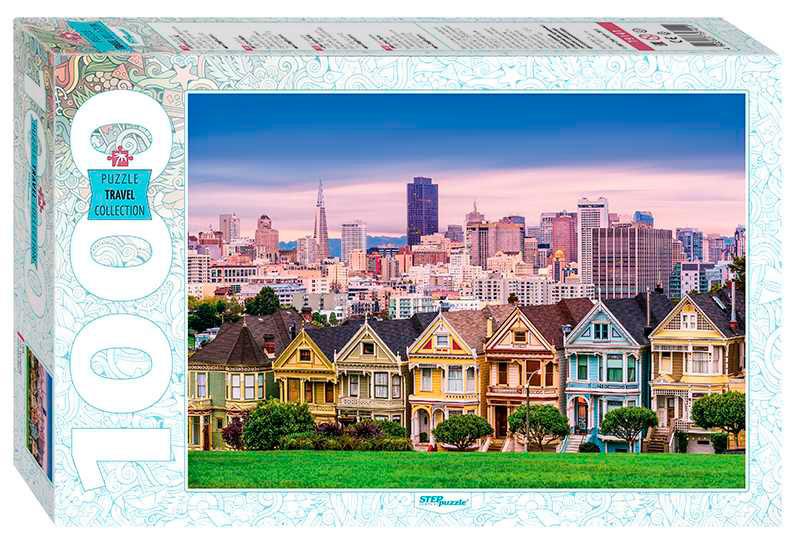 Puzzle Step Puzzle Damas Pintadas San Francisco de 1000 Piezas
