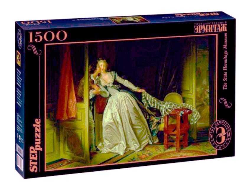 Puzzle Step Puzzle El Beso Robado de 1500 Piezas