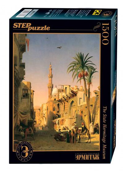 Puzzle Step Puzzle Elizbekia Street, El Cairo de 1500 Piezas