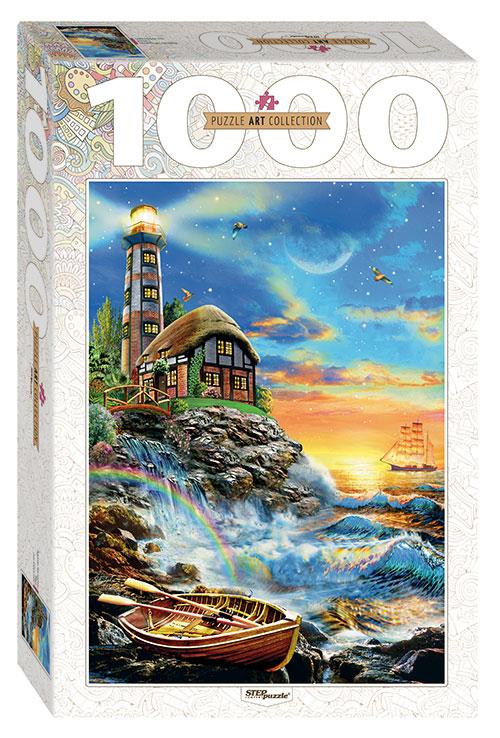 Puzzle Step Puzzle Faro de 1000 Piezas