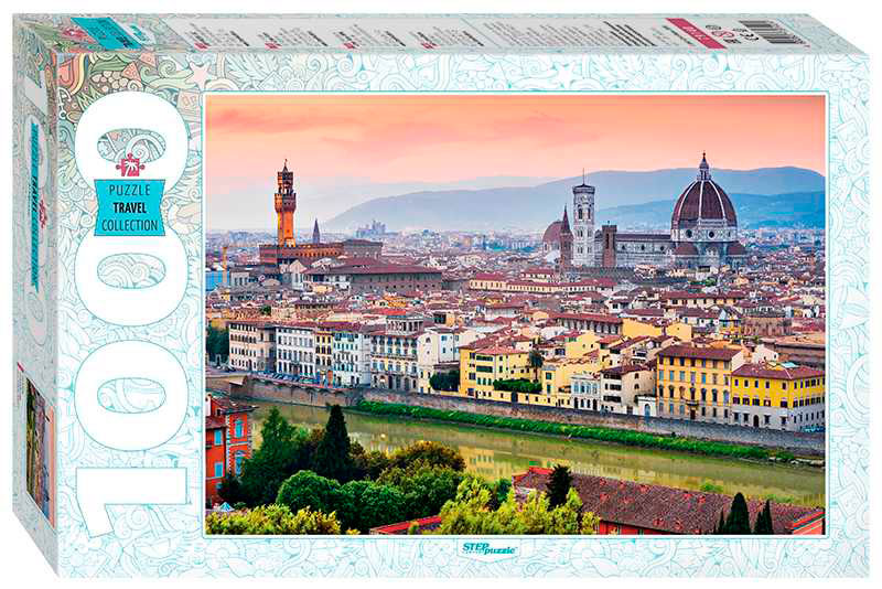 Puzzle Step Puzzle Florencia de 1000 Piezas