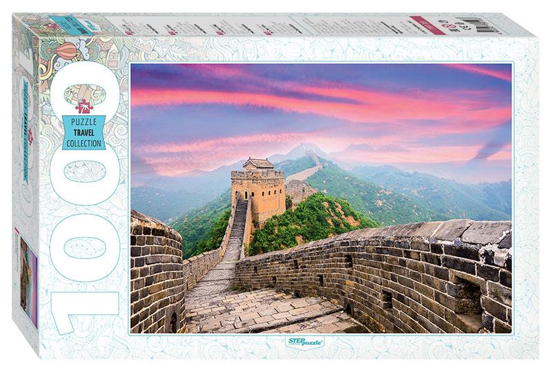 Puzzle Step Puzzle Gran Muralla China de 1000 Piezas
