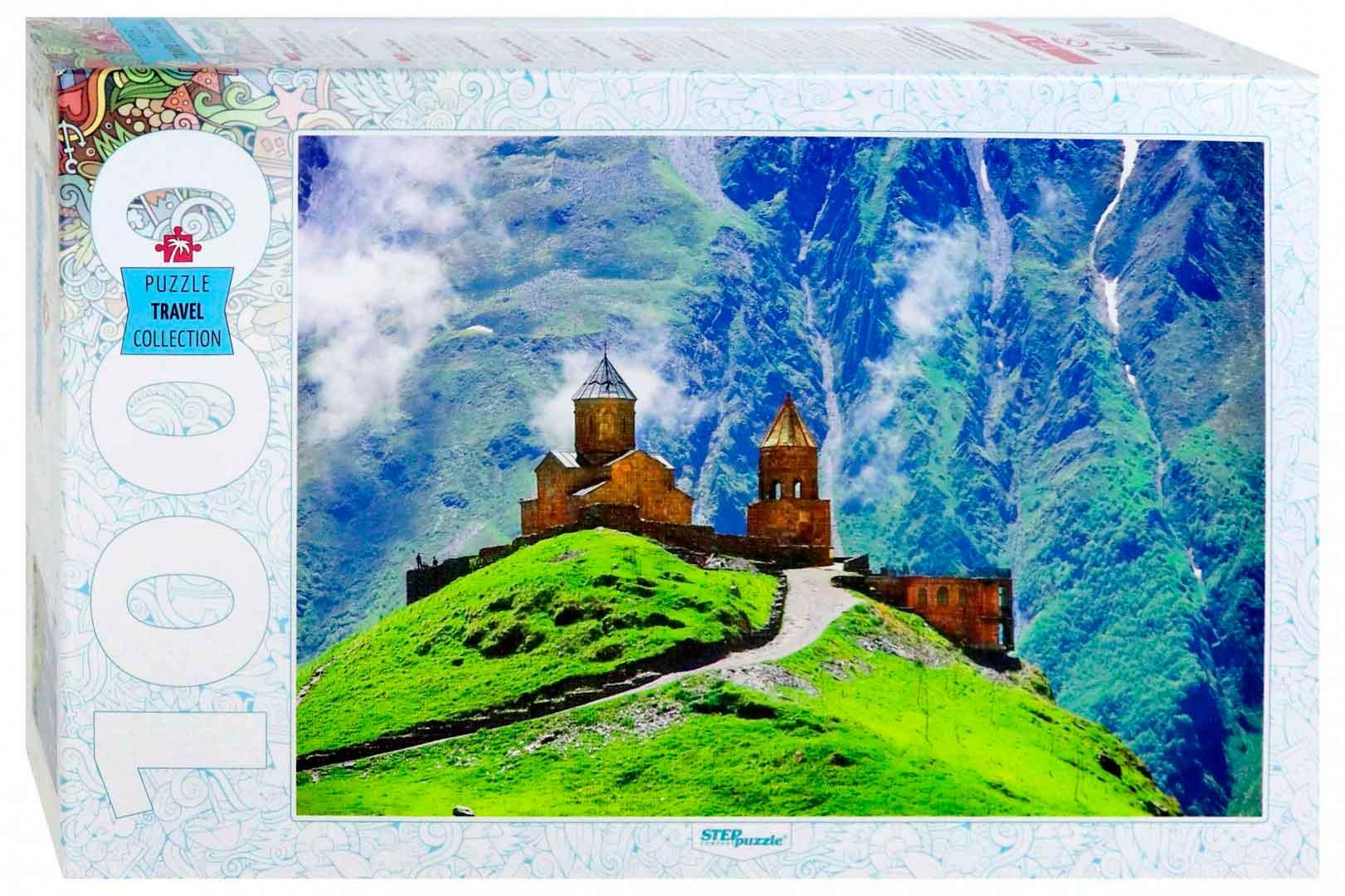Puzzle Step Puzzle Iglesia de la Trinidad de Guergueti de 1000 P