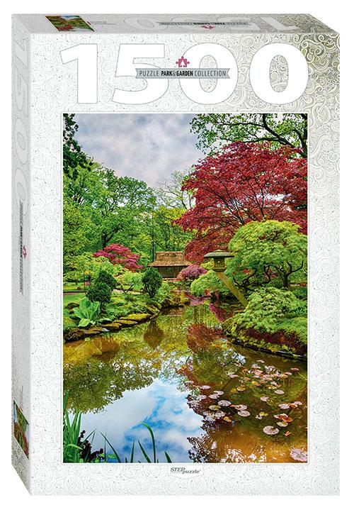 Puzzle Step Puzzle Jardín Japonés de 1500 Piezas