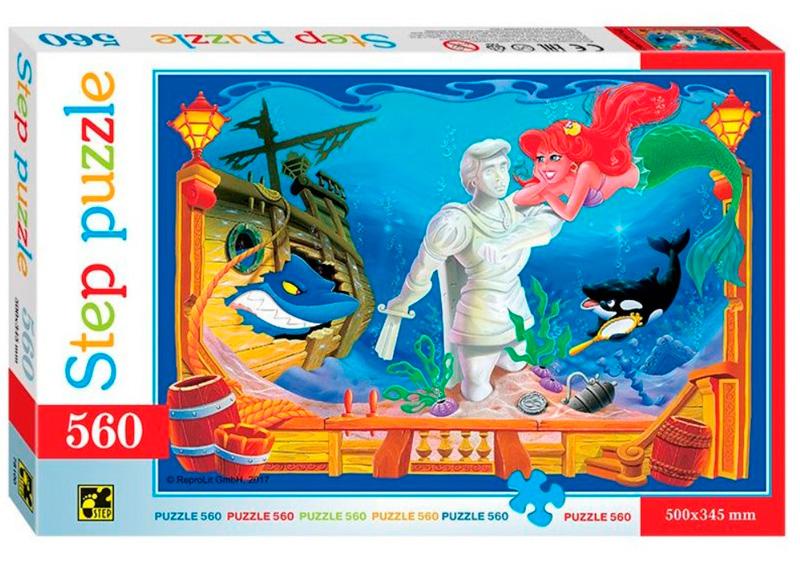 Puzzle Step Puzzle La Sirenita de 560 Piezas