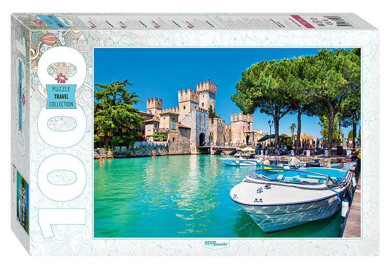 Puzzle Step Puzzle Lago de Garda de 1000 Piezas