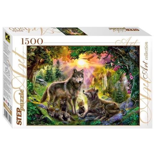 Puzzle Step Puzzle Lobos de 1500 Piezas