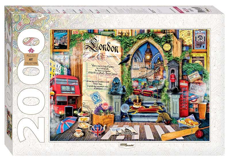 Puzzle Step Puzzle Londres de 2000 Piezas