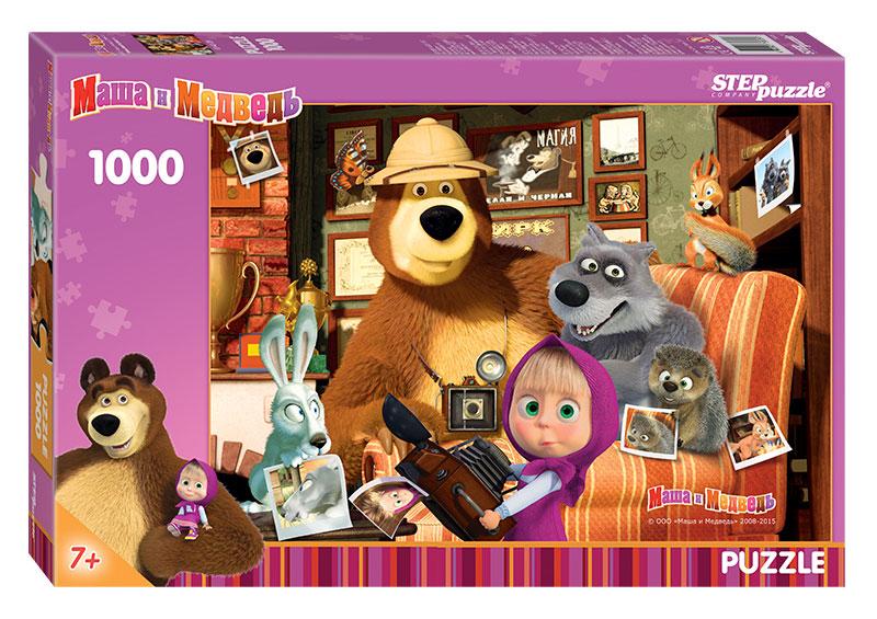 Puzzle Step Puzzle Masha y el Oso de 1000 Piezas